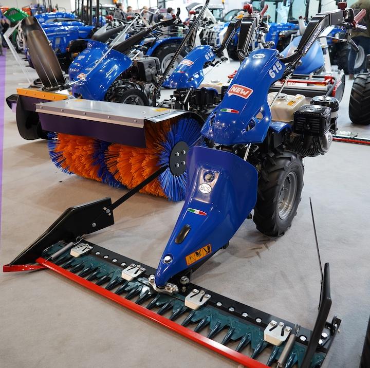 Motofalciatrice BCS PowerSafe 615 a Fieragricola 2020