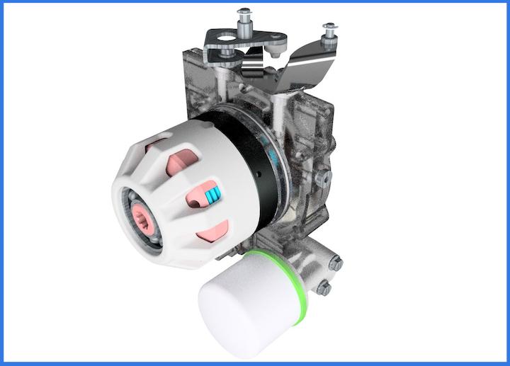Frizione idraulica PowerSafe® delle motofalciatrici BCS