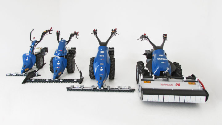 La gamma di motofalciatrici BCS PowerSafe