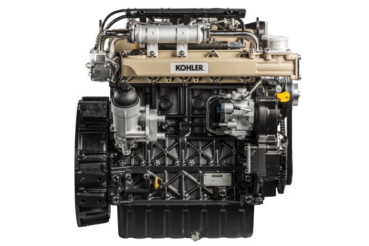 Il motore Kohler Kdi 2504 TCR montato sulla serie Vithar L80N di BCS