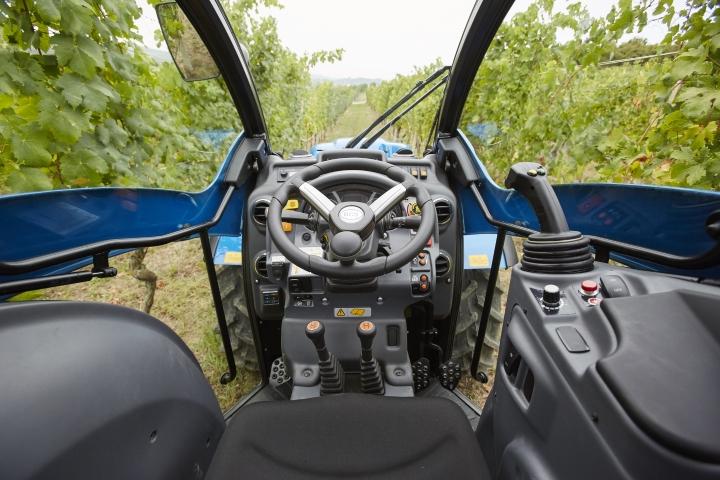 La cabina Compact Airtech del BCS Volcan SDT offre comfort, sicurezza e visibilità