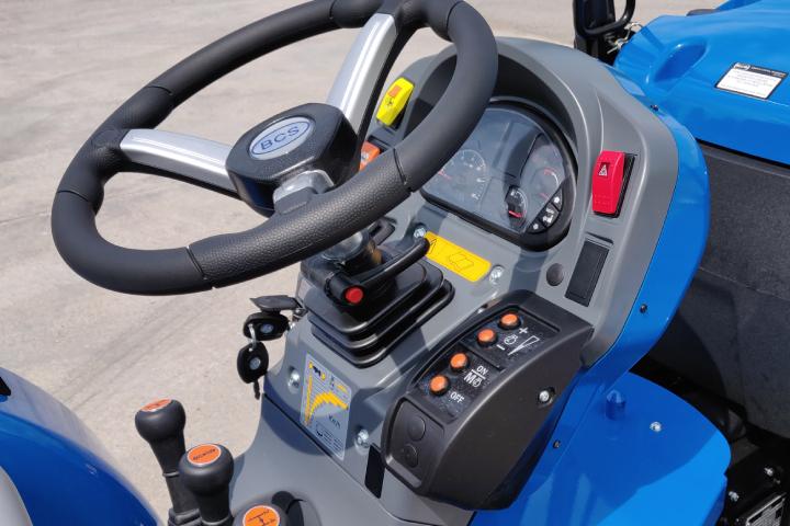 La consolle elettronica per la gestione dei giri motore