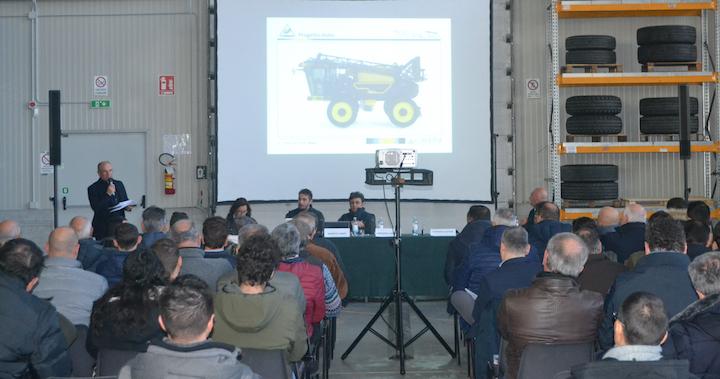 Presentazione alla rete vendita e ai clienti del nuovo Caffini Rider Vario Track