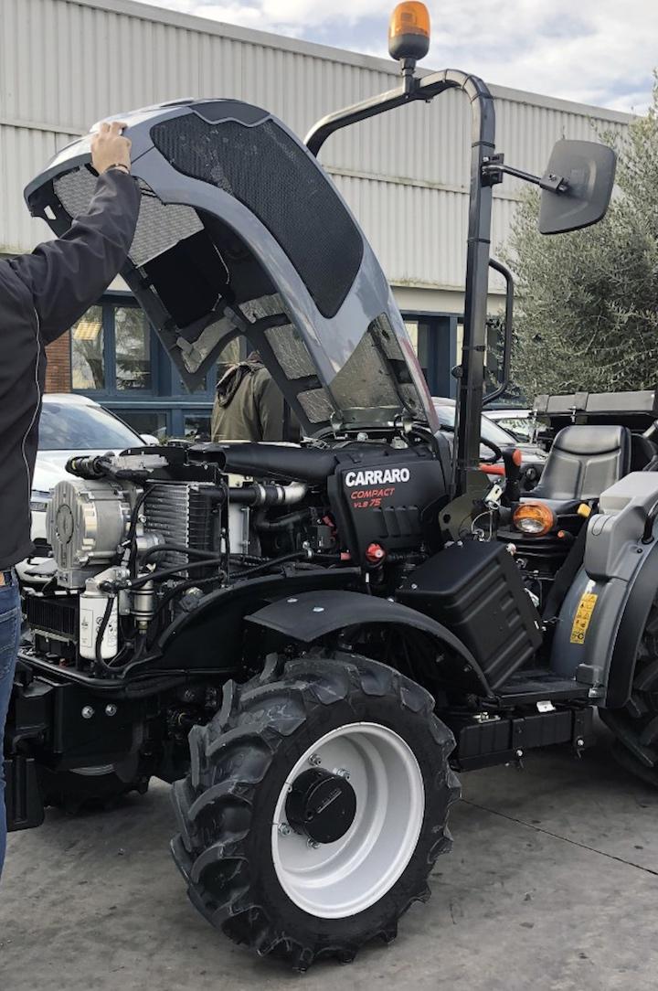 Carraro Compact con nuovo sistema Hard mild hybrid