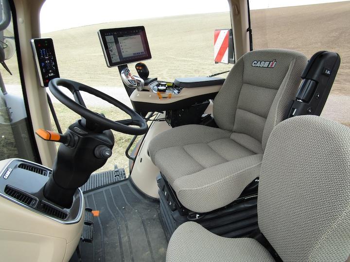 Cabina dei trattori Magnum AFS Connect di Case IH