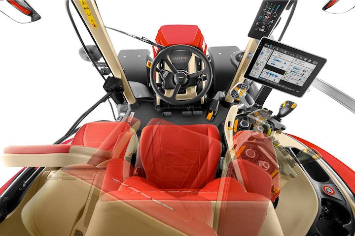 Cabina confortevole e high-tech per Case IH Optum AFS Connect