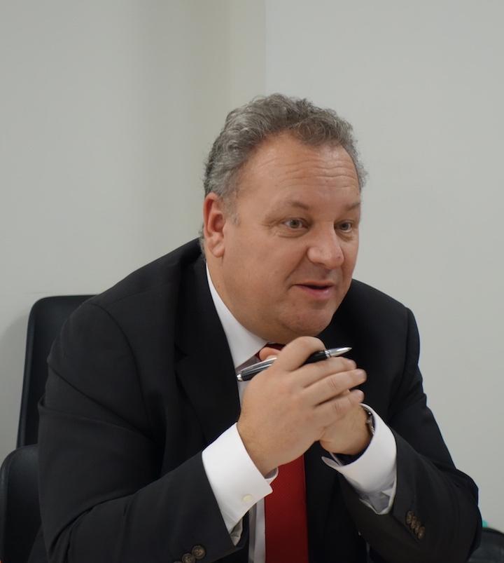 Thierry Panadero, vicepresidente di Case IH Europa, Africa e Medio Oriente