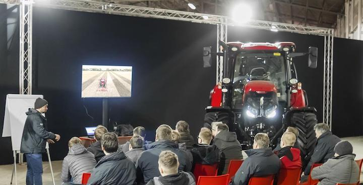 Un momento del training camp 2018 di Case IH