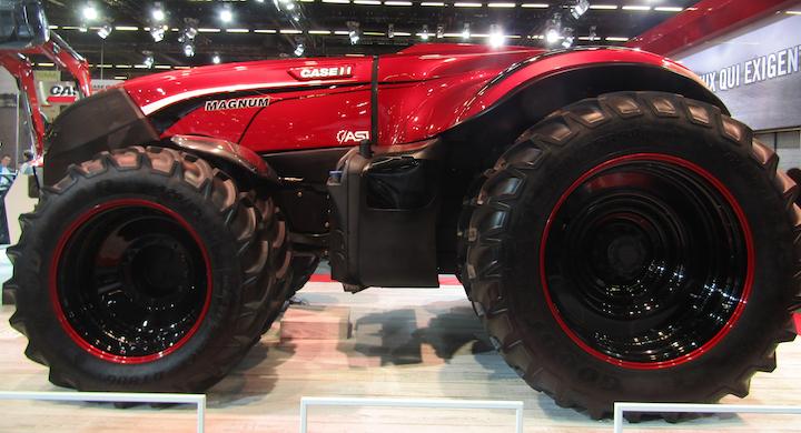 Concept di trattore autonomo Case IH Magnum