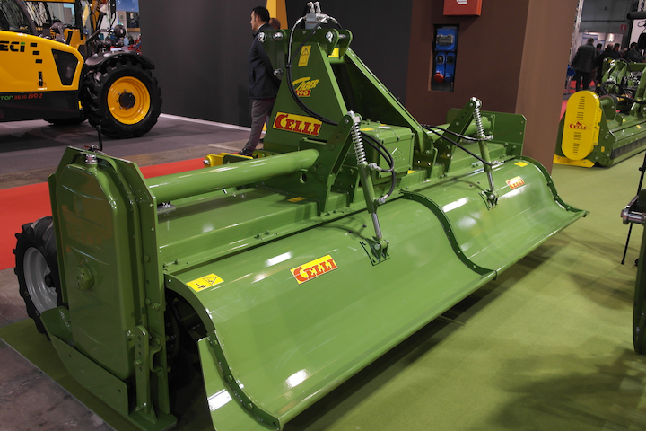 Celli Tiger 190 BIO versione Fieragricola 2018