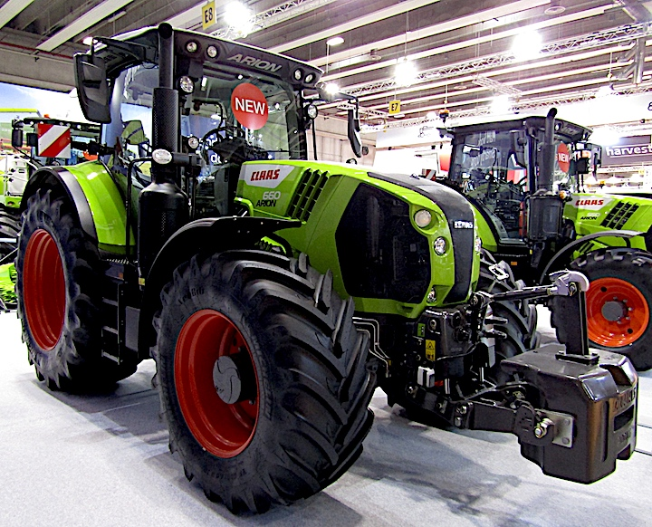 Claas Arion 660 in mostra a Fieragricola 2020
