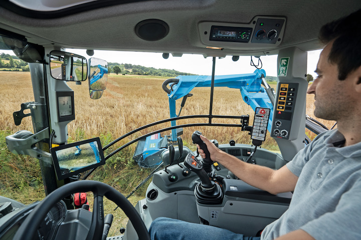 Guida automaticagestibile dal terminale S10 sui Claas Arion 400