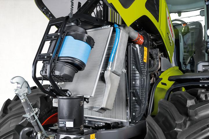 MotoreFPT Cursor 9 Stage V sui Claas Axion 900