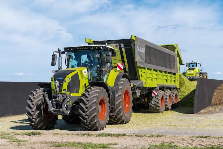 Carri Claas Cargos 700 con sterzatura meccanica-idraulica