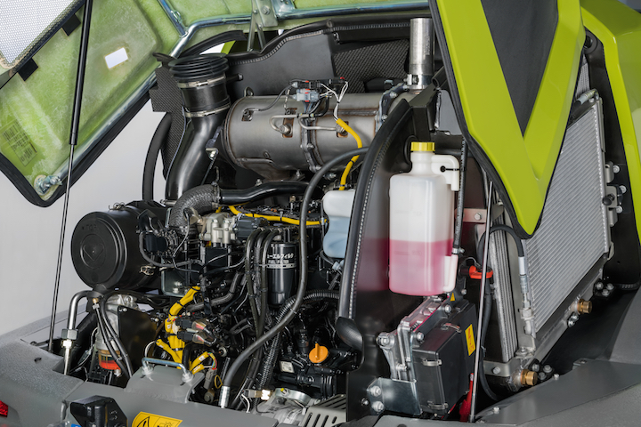 Motore Yanmar Stage V sullaTorion 738 T Sinus di Claas