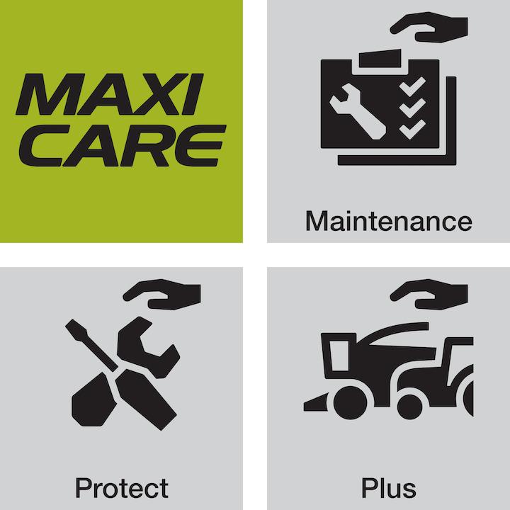Maxi Care Plus è il pacchetto di assistenza più completo di Claas