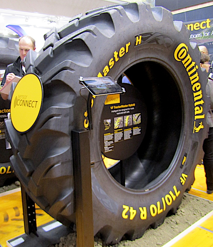 Continental VF TractorMaster Hybrid ad Agritechnica 2019