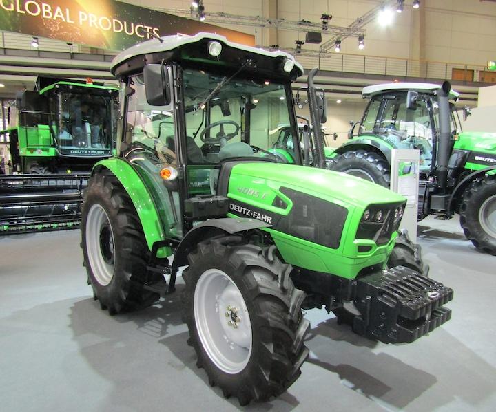 Deutz-Fahr 4085 E, modello destinato al mercato globale