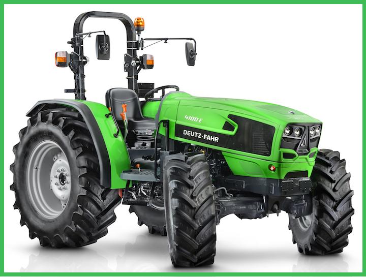 Nuovo Deutz-Fahr 4100 E, modello destinato al mercato europeo