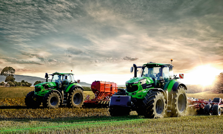 Deutz-Fahr 8280 TTV, disponibile con SDF Guidance