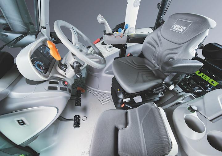 Cabina dei nuovi modelli Deutz-Fahr Serie 6