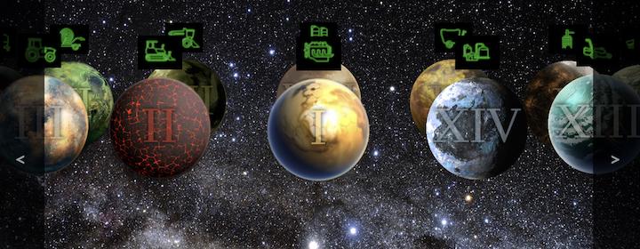 I pianeti di EDP