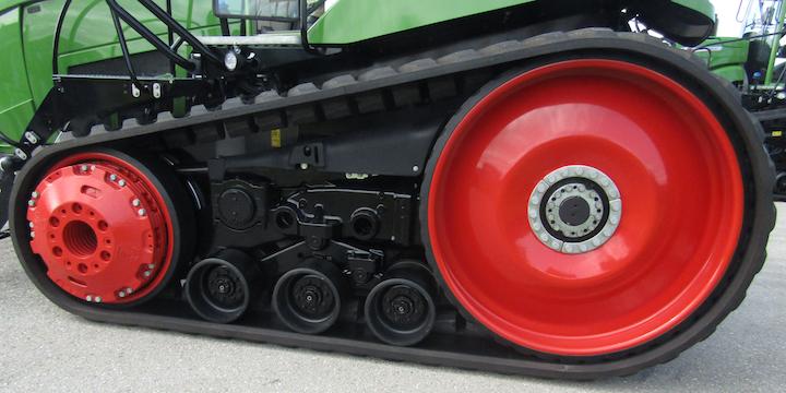 Cingolo del trattore Fendt 943 Vario MT a Marktoberdorf