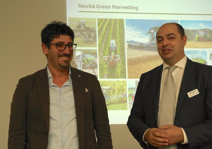 Da sinistra Tommaso Nardulli e Marco Mazzaferri ad Agrilevante