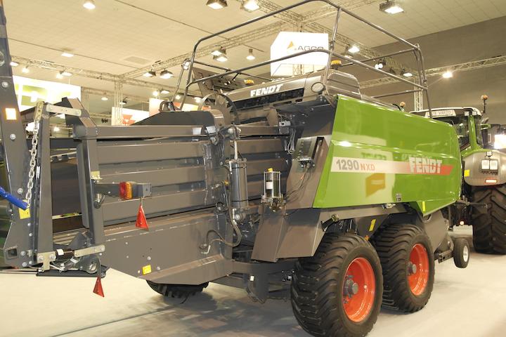 Fendt 1290 NX D esposta ad Agrilevante 2017