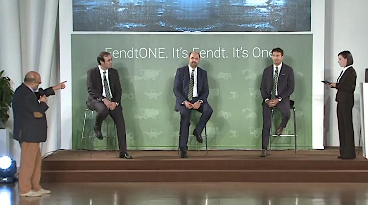 Da sinistra:Sauro Angelinidi Agrilinea,Michele Masotti,Marco Mazzaferri,Fabio Garavelli e Silvia Uderzodi Fendt