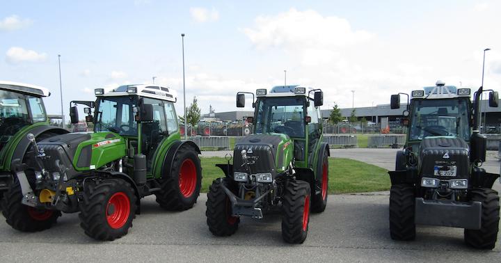 Nuovi trattori specializzati Fendt 200 V/F/P Vario