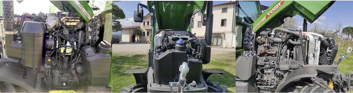 Motore AGCO Power tre cilindri Stage V