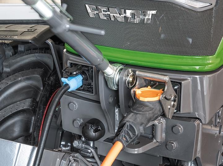 Interfacce di potenza del trattore Fendt e100 Vario