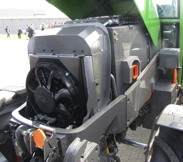 Motore elettrico del modello Fendt e100 Vario