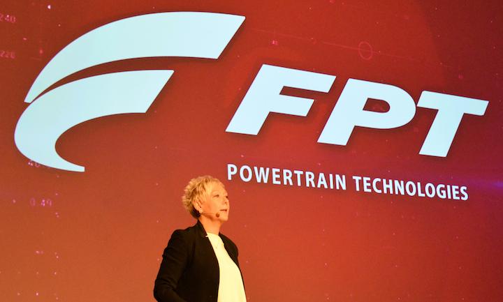 Annalisa Stupenengo, brand president di FPT Industrial, alla prima edizione di FPT Tech Day