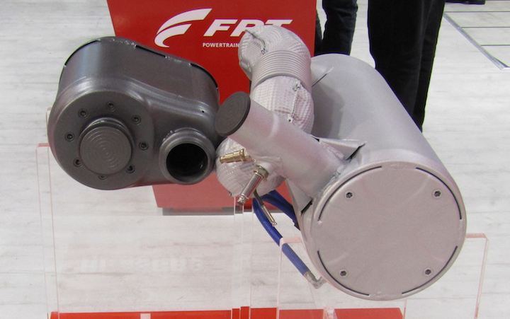 Sistema FPT Industrial HI-eSCR2 con SCRoF