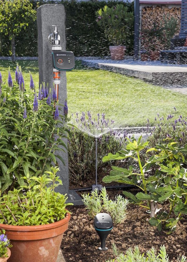 Gardena e mcculloch presentano le novit 2017 for Programmazione irrigazione giardino
