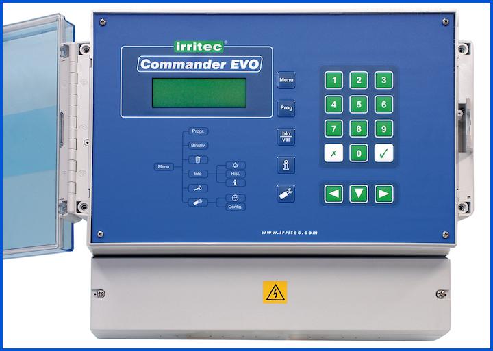 Il programmatore di irrigazione digitale combina la gestione del pH ed EC