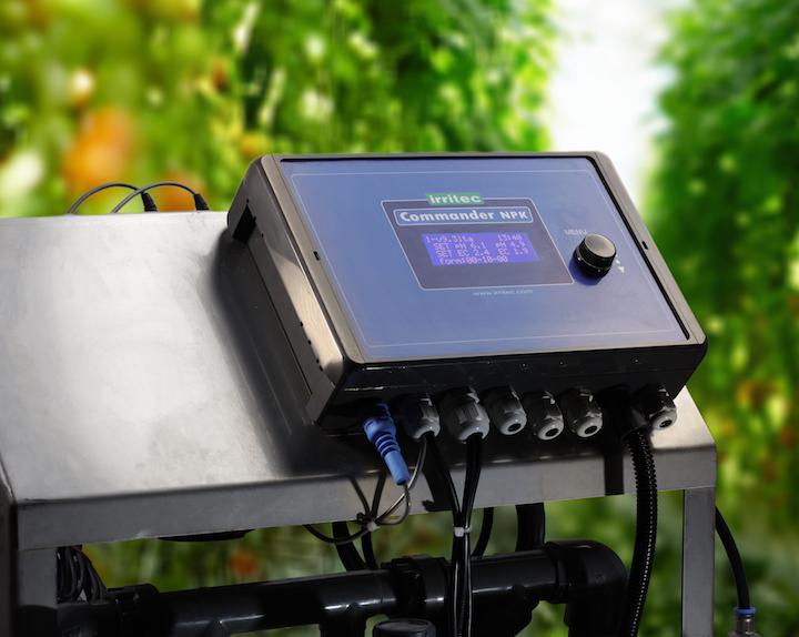 Irritec Commander NPK, ideale per l'automazione dell'impianto irriguo