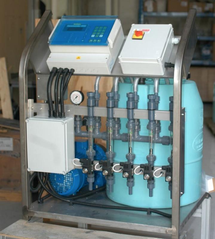 Shaker Set, sistema di iniezione delle soluzioni nutritive