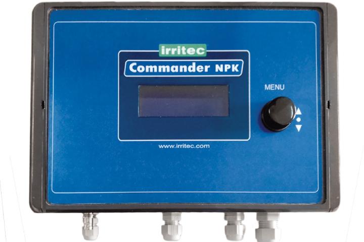 La console del Commander NPK