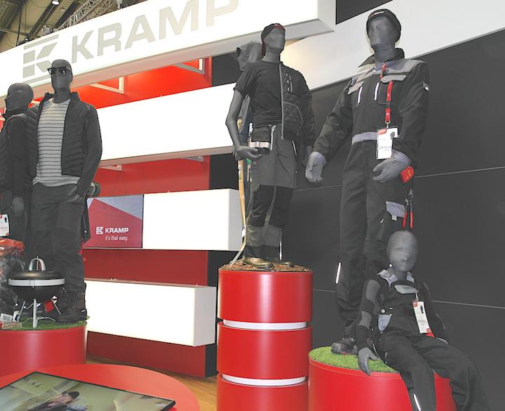 Linea abbigliamento e scarpe da lavoro KRAMP ad Agritechnica 2017