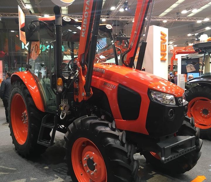 Trattore Kubota M5111 Utility Narrow al Fima 2018