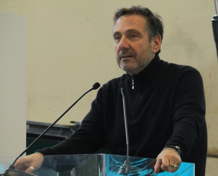 Il geologo Mario Tozzi, special guest all'inaugurazione della sede di Kubota