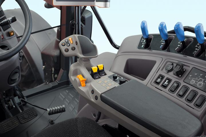Nuova leva multifunzione dei trattori Kubota M6002