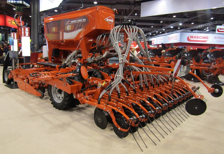 Nuova KUHN Espro 4000 RC, in mostra ad Agritechnica 2017