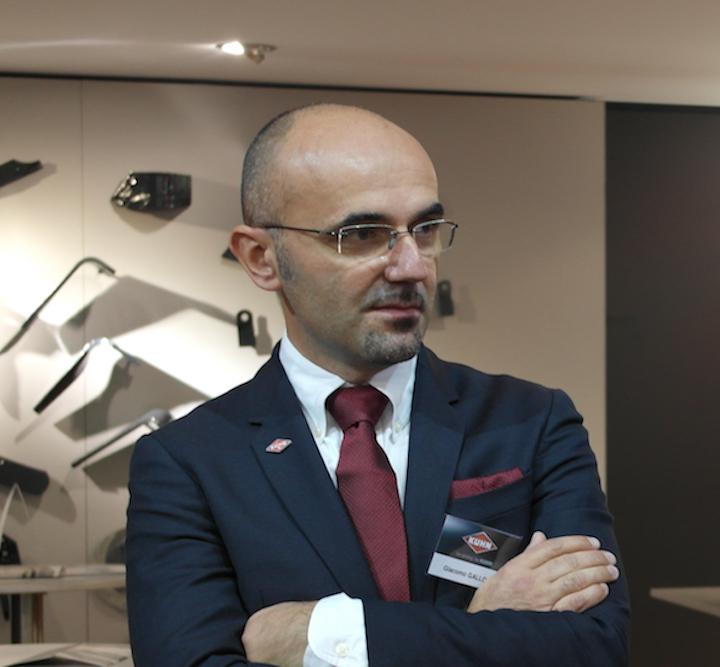 Giacomo Gallotta technical manager di KUHN Italia_Agritechnica 2017