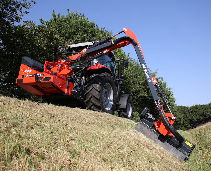 KUHN Agri Longer GII 5045 P all'opera