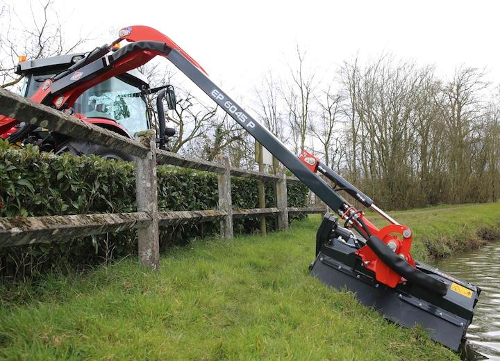 KUHN Agri Longer GII 6045 P, ideale per la manutenzione del verde in diversi contesti