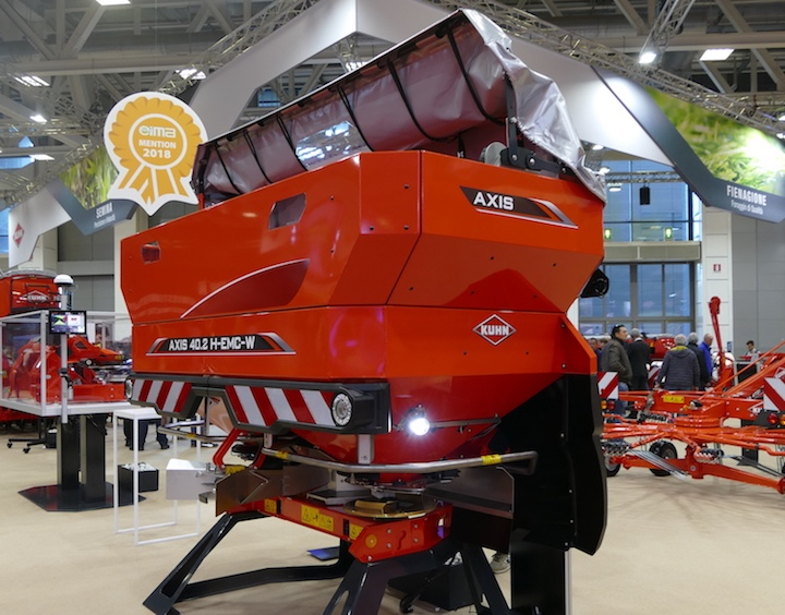 Spandiconcime KUHN Axis 40.2 H EMC con SpeedServo a Bologna